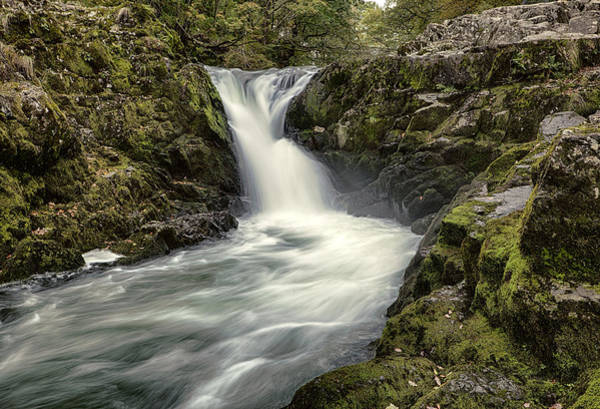 Wall Art - Photograph - Skelwith Force by Graham Moore