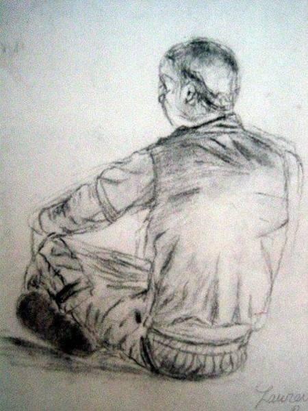 Wall Art - Drawing - Sketch 1 by Lauren  Pecor