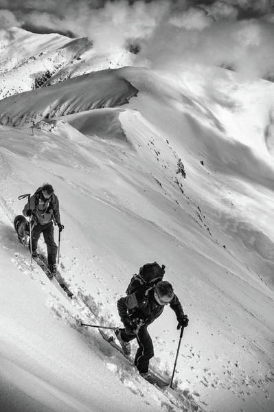 Regions Photograph - Ski Mountaineering . . by Matej Rumansky