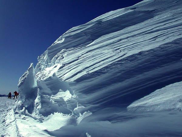 Photograph - Ski Players  High Snow Kappl  Austria by Colette V Hera  Guggenheim