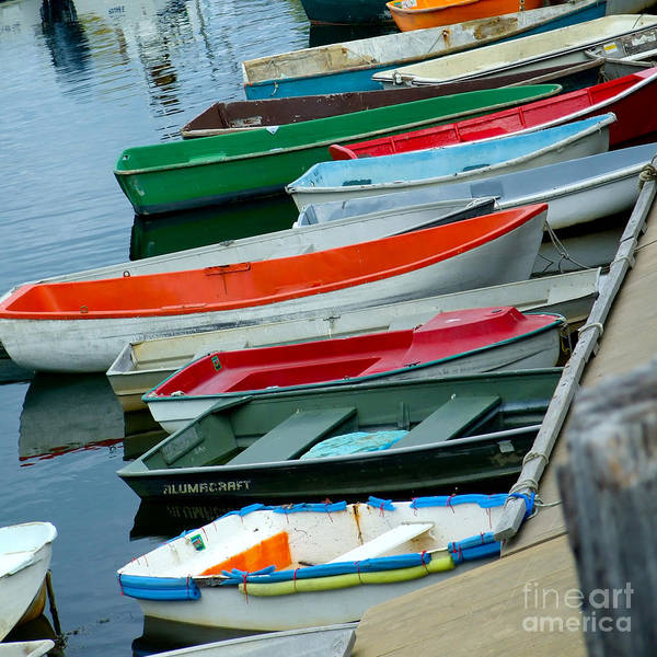 Photograph - Skiff Peek by Kristen Fox