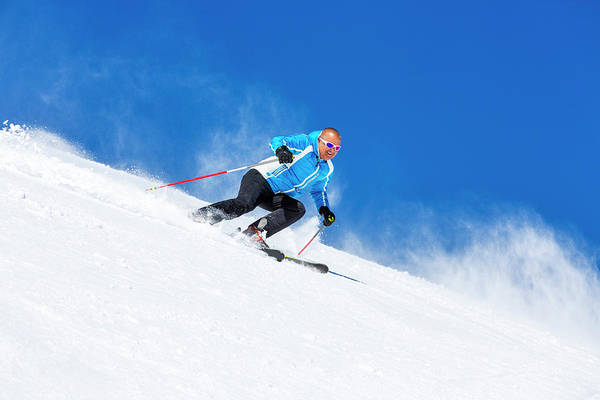 Extreme Sport Photograph - Skiing Carving by Ultramarinfoto