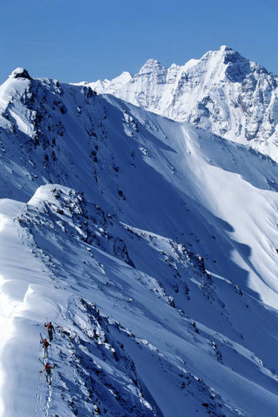 Wall Art - Photograph - Skiing, Hiking, Colorado by Tomas Zuccareno
