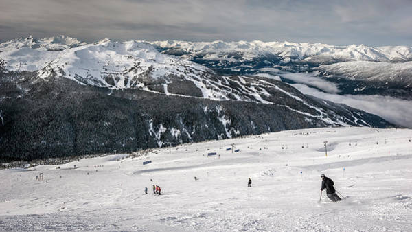Photograph - Skiing On Blackcomb Mountain by Pierre Leclerc Photography
