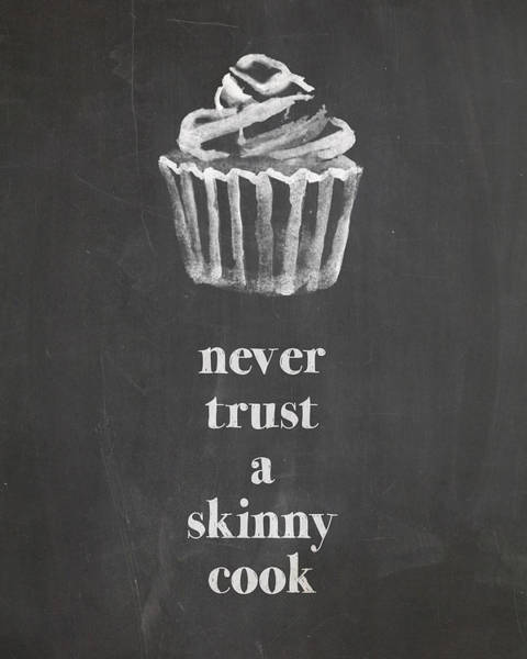 Digital Art - Skinny Cook by Nancy Ingersoll