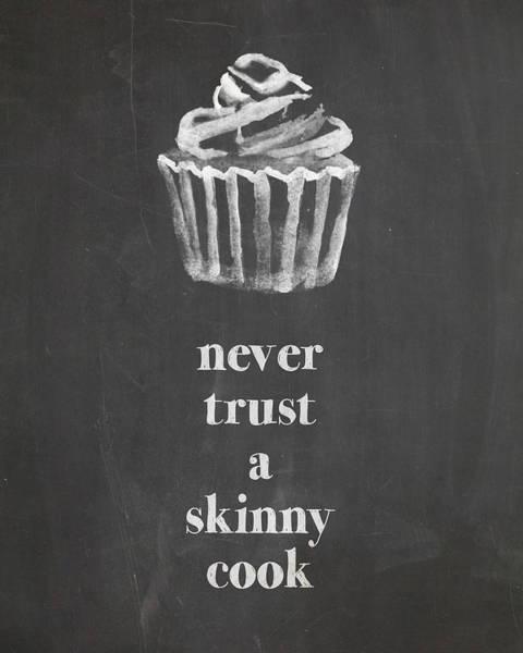 Skinny Cook Art Print