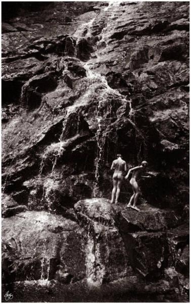 Photograph - Skinny-dipping At Nancy Cascade by Wayne King