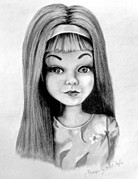 Skipper Barbie Art Print