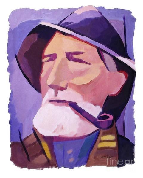 Painting - Skipper by Lutz Baar