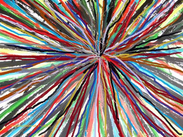 Skip Rope Painting - Skipping Ropes  by Mudiama Kammoh