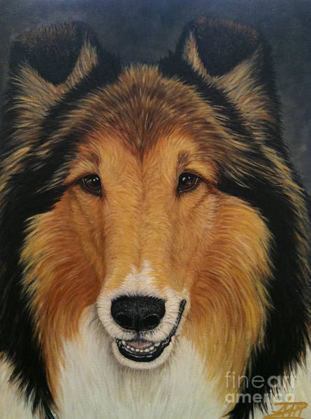 Painting - Skippy by Ana Marusich-Zanor