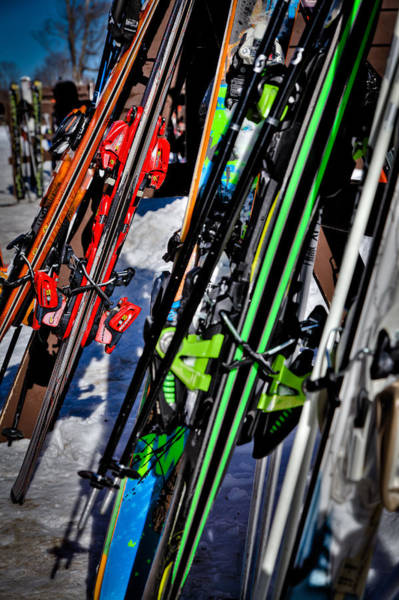 Photograph - Skis At Mccauley Mountain by David Patterson