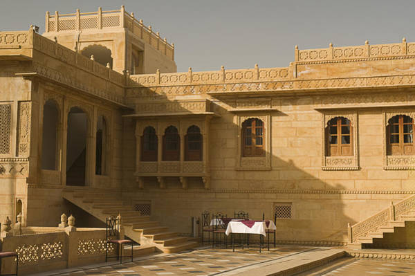 Wall Art - Photograph - Skn 1322 Palatial Architecture by Sunil Kapadia