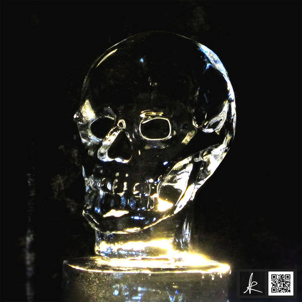 Ice Carving Photograph - Skull In Ice by Suguru Kanbayashi