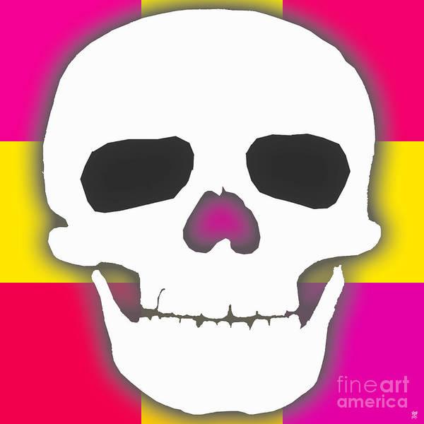 Revolting Digital Art - Skully Big by Neil Finnemore
