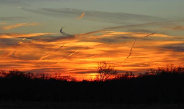 Photograph - Sky At Sunset by Cynthia Guinn