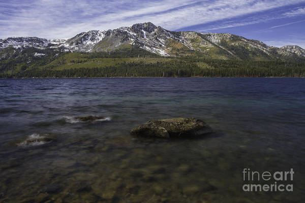 Fallen Leaf Lake Photograph - Sky Blue Water by Mitch Shindelbower