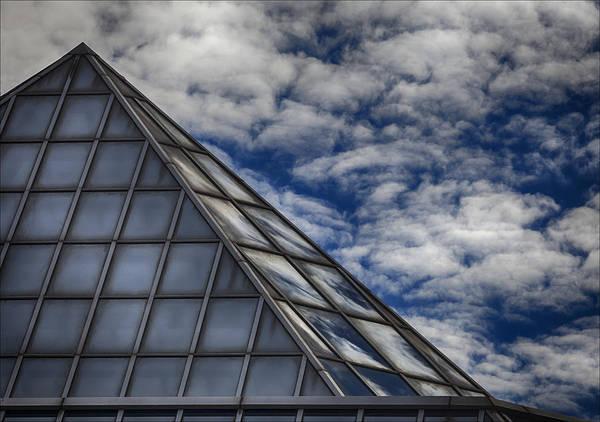 Sky Clouds And Glass Art Print by Robert Ullmann