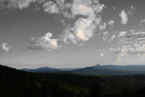 Photograph - Sky Diamond Mountains by Dylan Punke