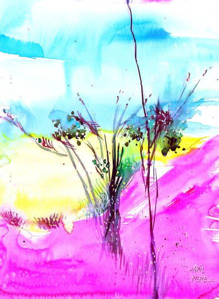 Painting - Sky Fall by Anil Nene