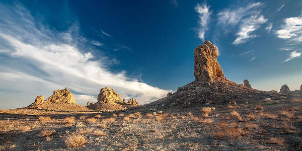 Big Sky Photograph - Sky Masters - Trona Pinnacles by Peter Tellone