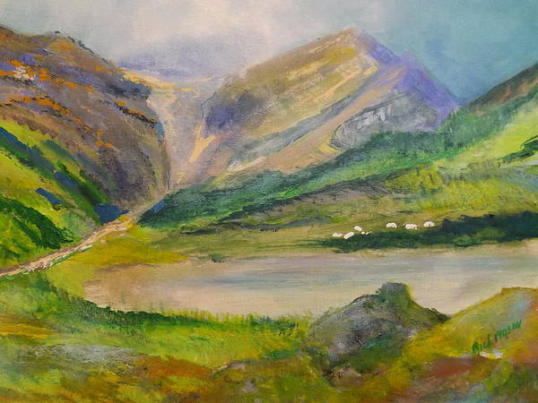 Wall Art - Painting - Sky Meets Earth In County Kerry by Rich Mason