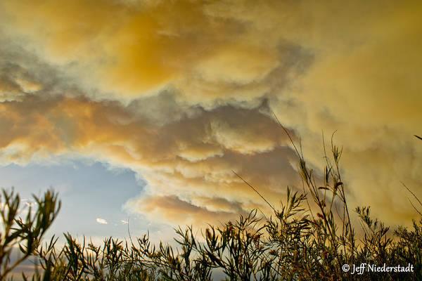 Sky Of Smoke Art Print