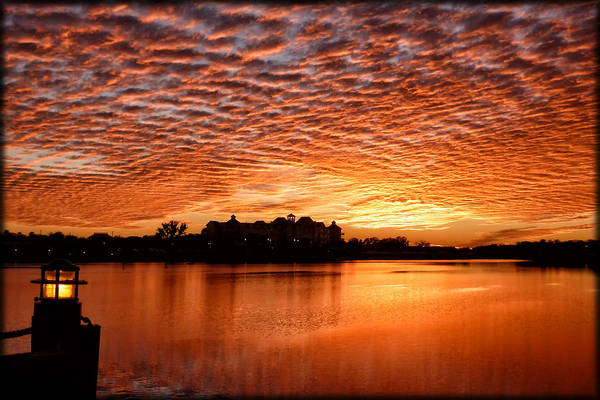 Photograph - Sky On Fire by Ghostwinds Photography