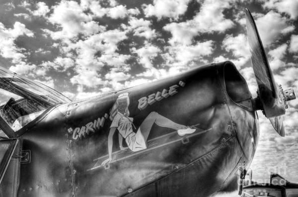 Photograph - Sky Pilot 2 Bw by Mel Steinhauer