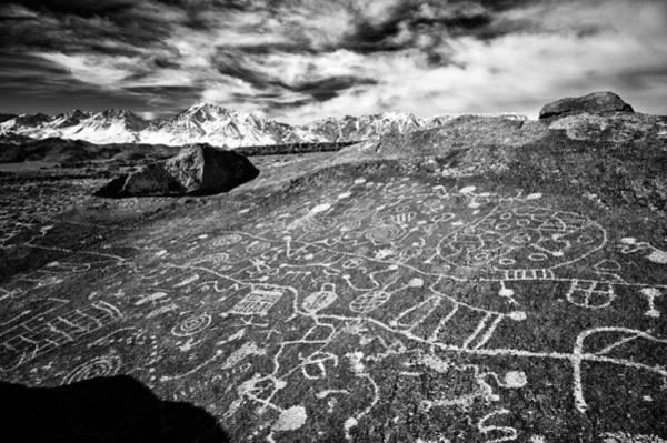 Eastern Sierra Photograph - Sky Rock by Cat Connor