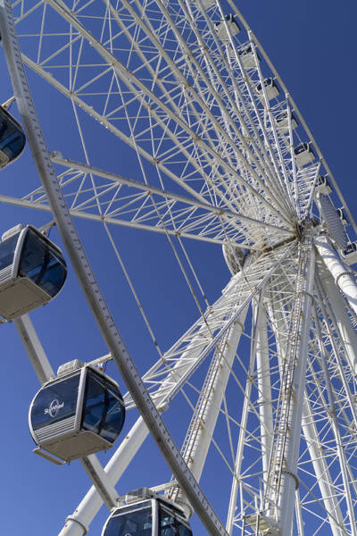 Photograph - Sky Wheel At Myrtle Beach by MM Anderson