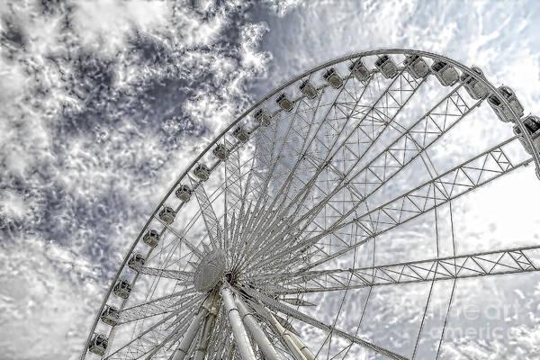 Photograph - Sky Wheel by Jim Lepard