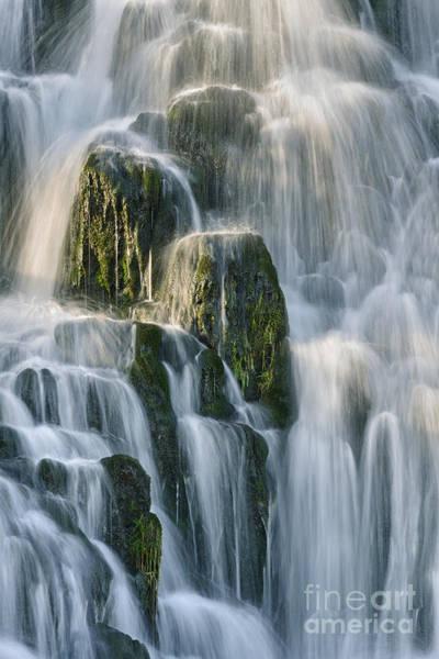 Skye Photograph - Skye Waterfall by Rod McLean