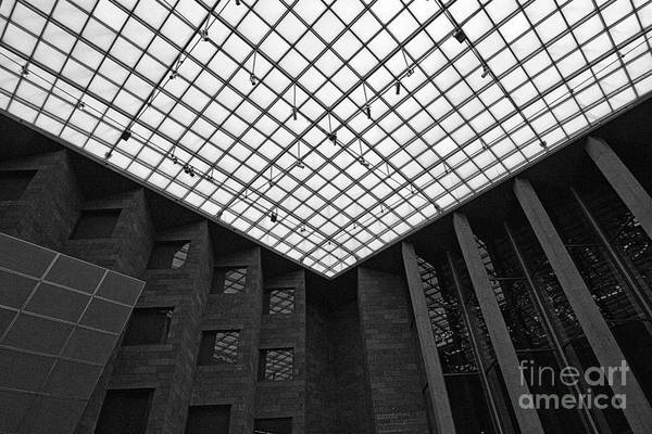 Photograph - Skylight Ceiling At The National Gallery Of Victoria by Beverly Claire Kaiya