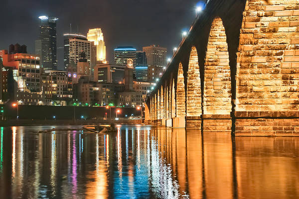 Wall Art - Photograph - Skyline And Stone Arch by Near and Far Photography