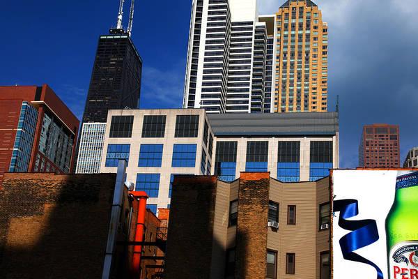 Photograph - Skyline Building Blocks by Patrick Malon