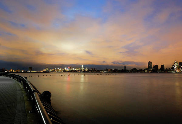 Fox River Wall Art - Photograph - Skyline Of Manhattan, Power Outage by Cultura Exclusive/karen Fox