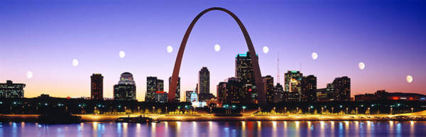 Wall Art - Photograph - Skyline St Louis Missouri Usa by Panoramic Images
