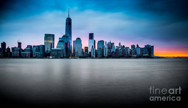 Photograph - Skyline Sunrise by Jim DeLillo