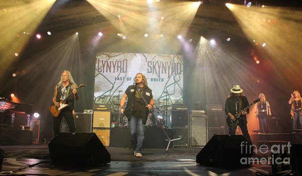 Rickey Medlocke Photograph - Skynyrd-group-7063 by Gary Gingrich Galleries