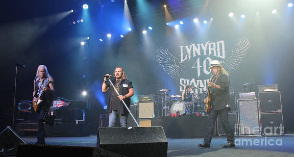 Rickey Medlocke Photograph - Skynyrd-group-7292 by Gary Gingrich Galleries
