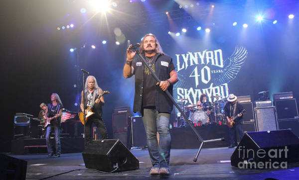 Rickey Medlocke Photograph - Skynyrd-group-7309 by Gary Gingrich Galleries