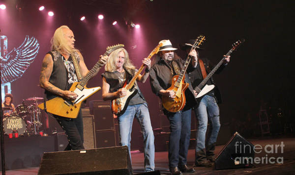 Rickey Medlocke Photograph - Skynyrd-group-7642 by Gary Gingrich Galleries
