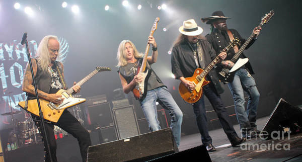 Rickey Medlocke Photograph - Skynyrd-group-7670 by Gary Gingrich Galleries