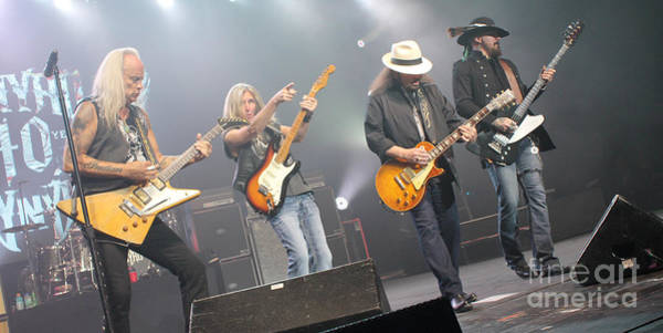 Rickey Medlocke Photograph - Skynyrd-group-7672 by Gary Gingrich Galleries