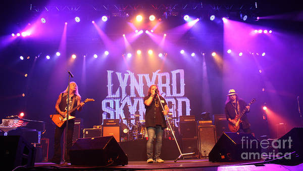 Rickey Medlocke Photograph - Skynyrd-group-7820 by Gary Gingrich Galleries