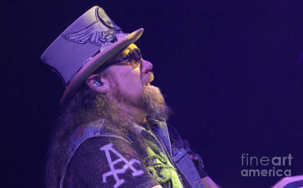 Rickey Medlocke Photograph - Skynyrd-pete-7610 by Gary Gingrich Galleries