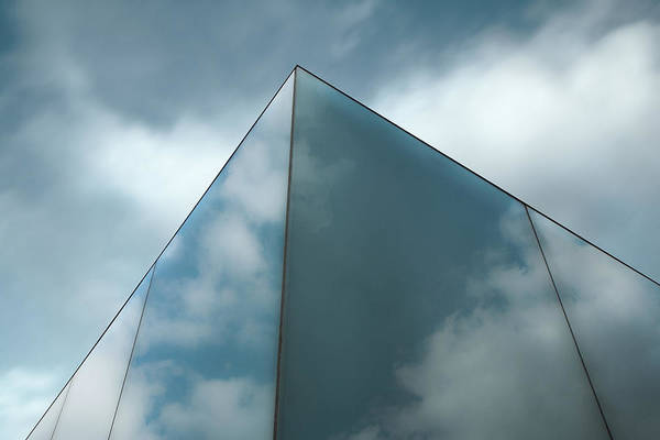 Cube Wall Art - Photograph - Skyreflect by Gilbert Claes