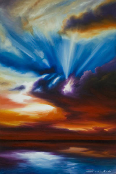 Painting - Skyrise by James Christopher Hill