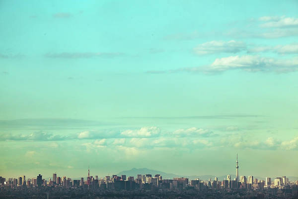 Outdoors Photograph - Skyscape Of The Tokyo Area by Hiroshi Watanabe